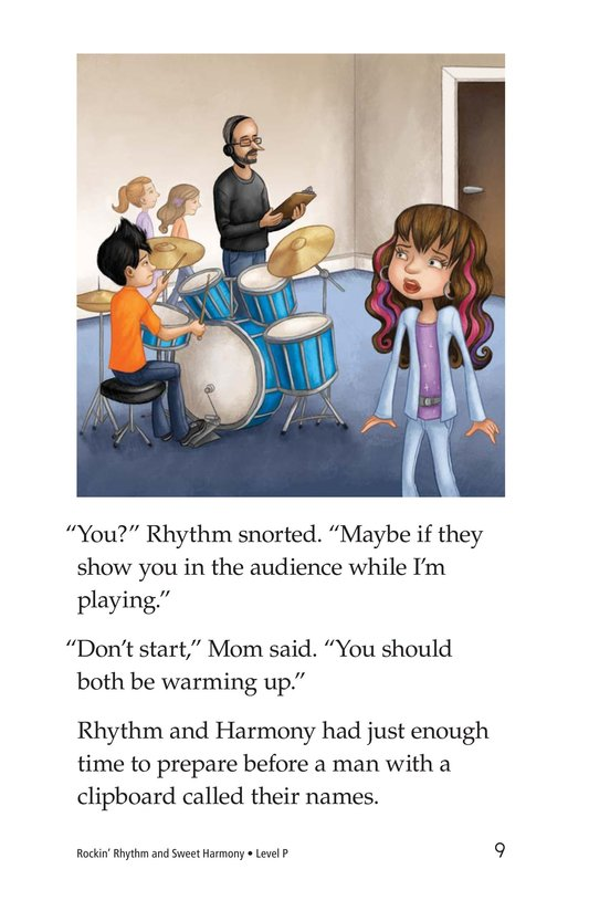 Book Preview For Rockin' Rhythm and Sweet Harmony Page 9
