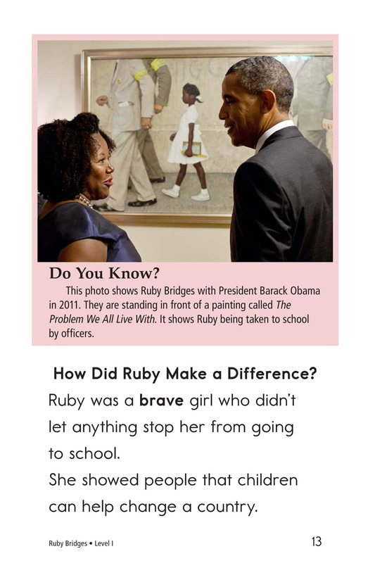 Book Preview For Ruby Bridges Page 13