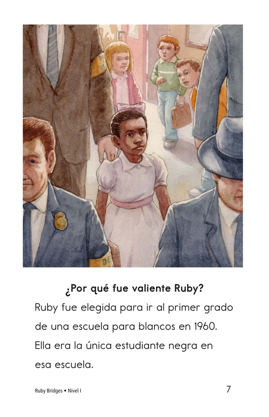 Book Preview For Ruby Bridges Page 7