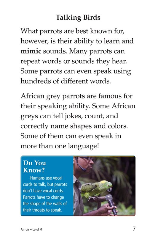 Book Preview For Parrots Page 7