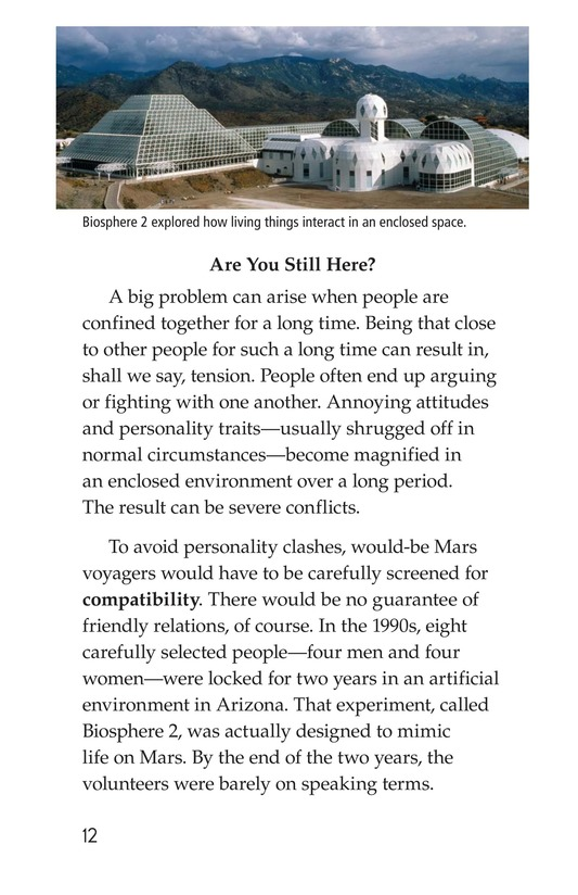 Book Preview For So You Want To Go To Mars? Page 12