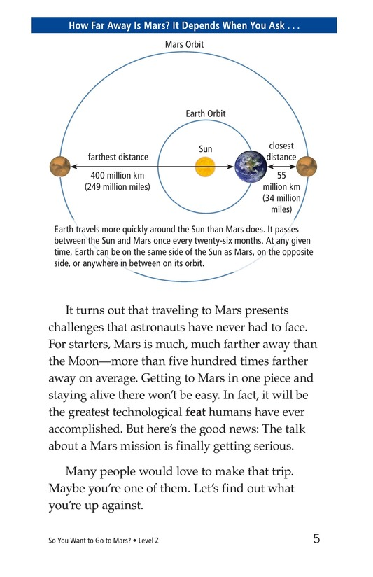 Book Preview For So You Want To Go To Mars? Page 5