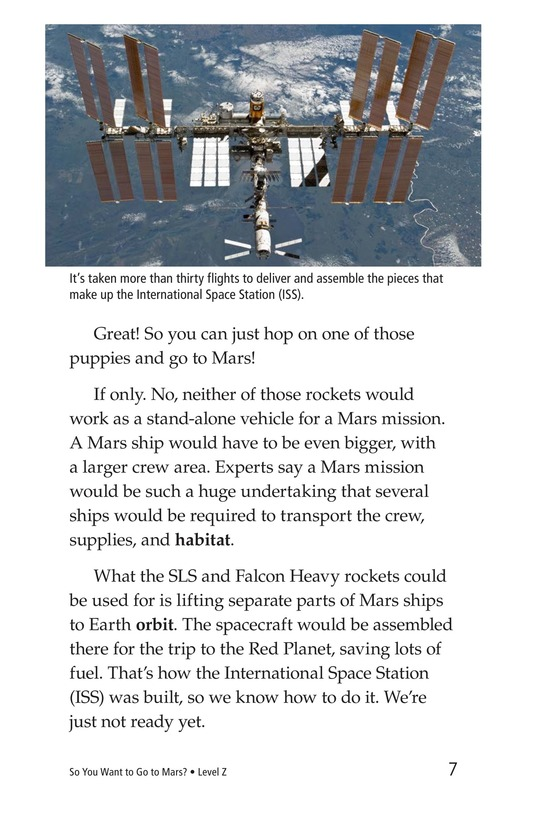 Book Preview For So You Want To Go To Mars? Page 7