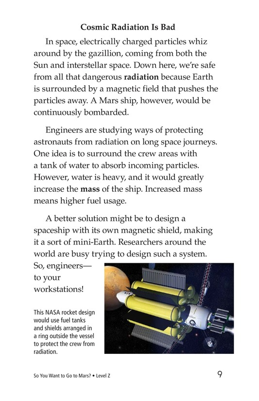 Book Preview For So You Want To Go To Mars? Page 9