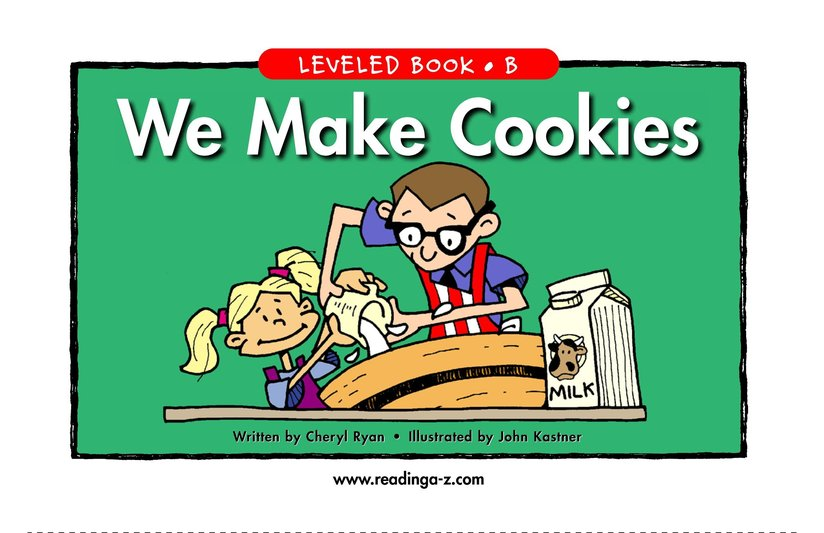 Book Preview For We Make Cookies Page 1