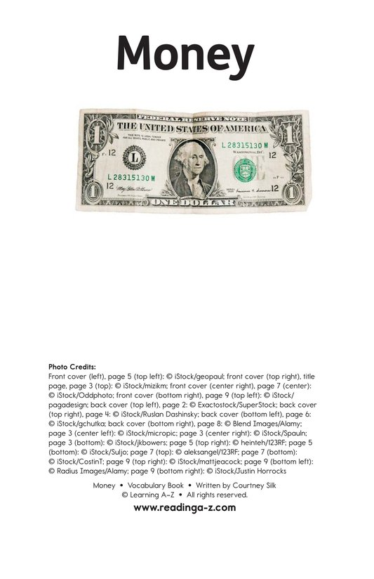 Book Preview For Money Page 11