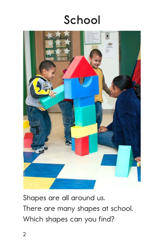 Book Preview For Shapes Around Us Page 2
