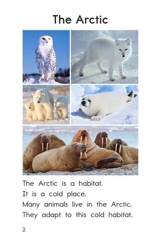 Book Preview For Animal Habitats Page 2