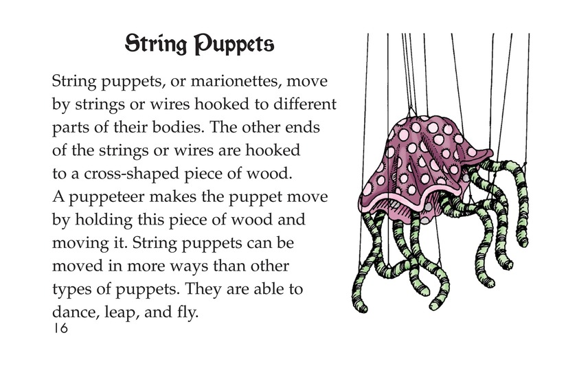 Book Preview For Puppets Page 16