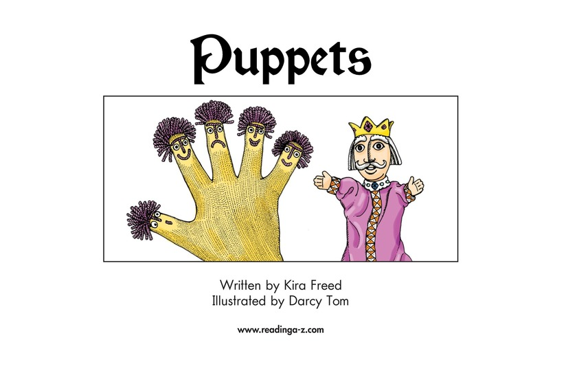 Book Preview For Puppets Page 2