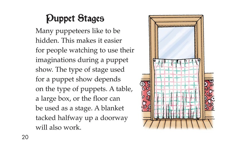 Book Preview For Puppets Page 20