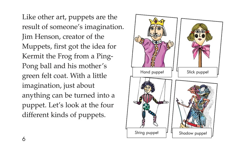 Book Preview For Puppets Page 6