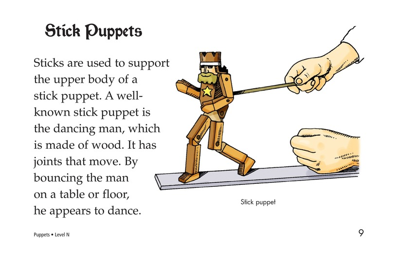 Book Preview For Puppets Page 9