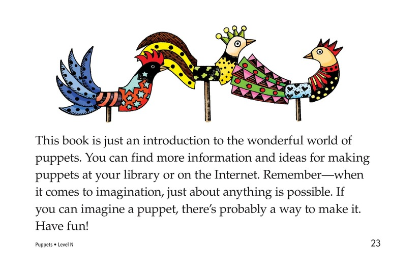 Book Preview For Puppets Page 23