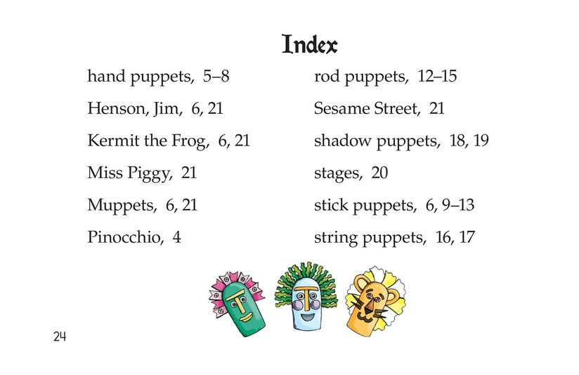 Book Preview For Puppets Page 24