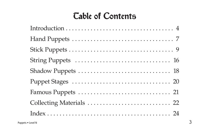 Book Preview For Puppets Page 3