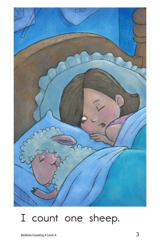Book Preview For Bedtime Counting Page 3