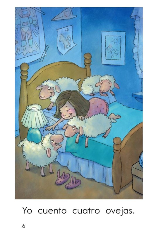 Book Preview For Bedtime Counting Page 6