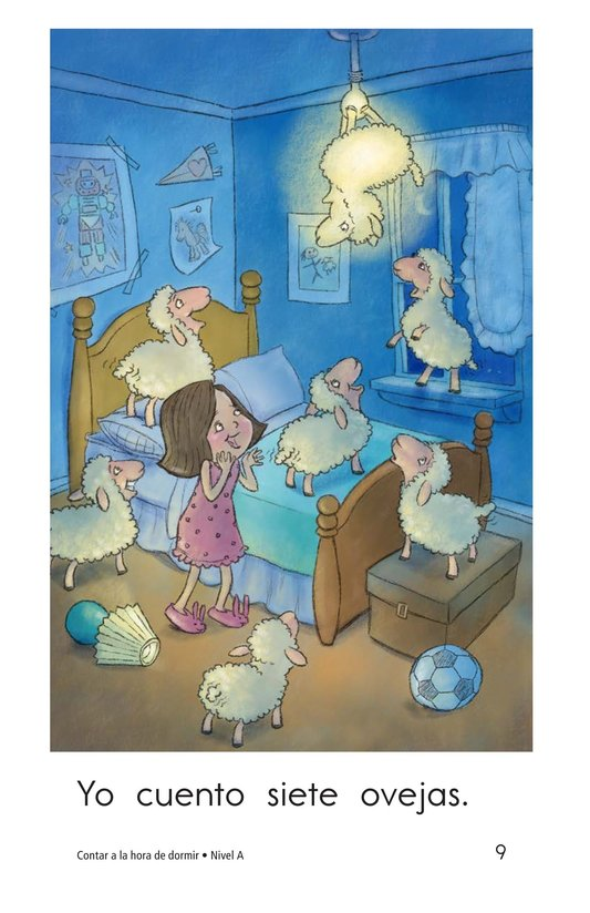 Book Preview For Bedtime Counting Page 9