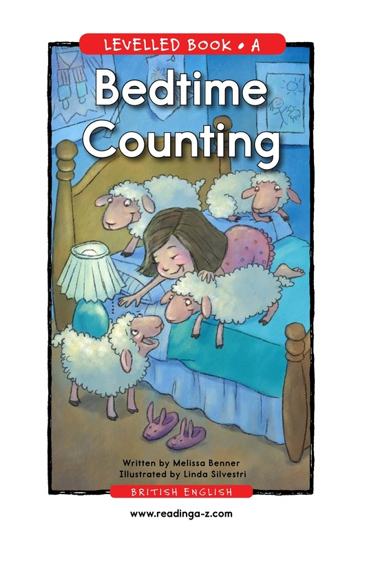Book Preview For Bedtime Counting Page 1