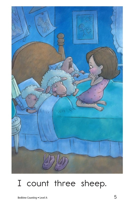 Book Preview For Bedtime Counting Page 5