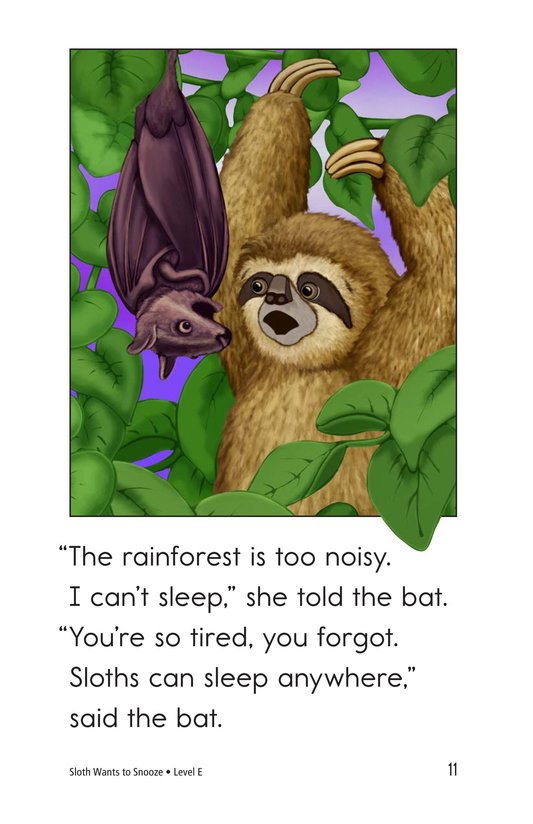 Book Preview For Sloth Wants to Snooze Page 11