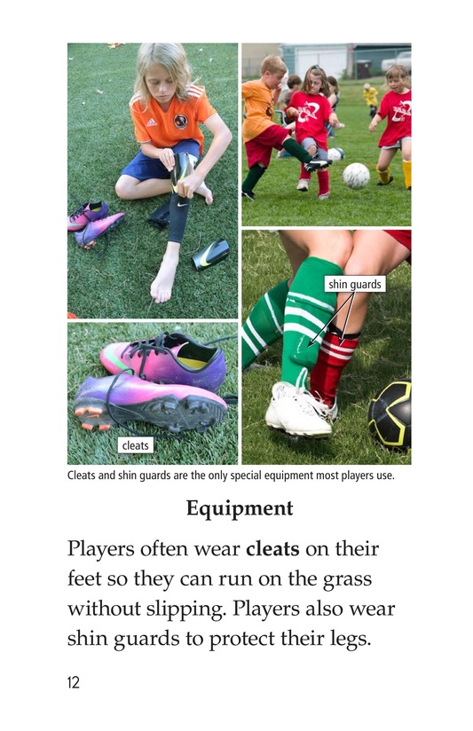 Book Preview For Soccer Is a Kick! Page 12
