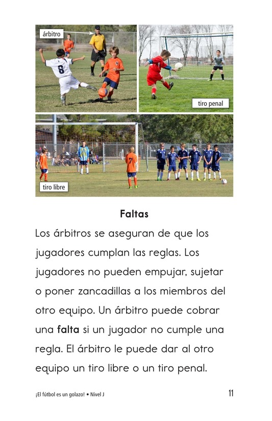 Book Preview For Soccer Is a Kick! Page 11