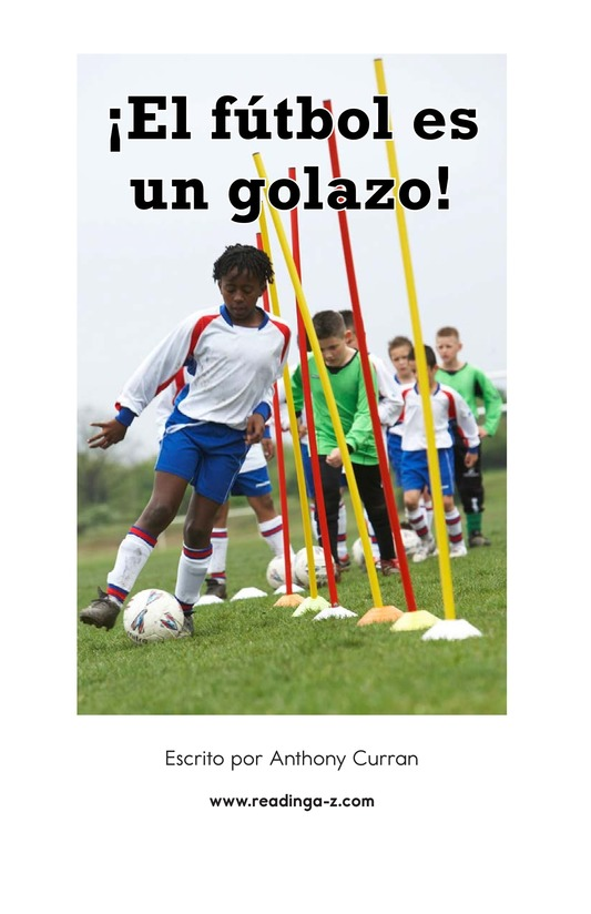 Book Preview For Soccer Is a Kick! Page 2