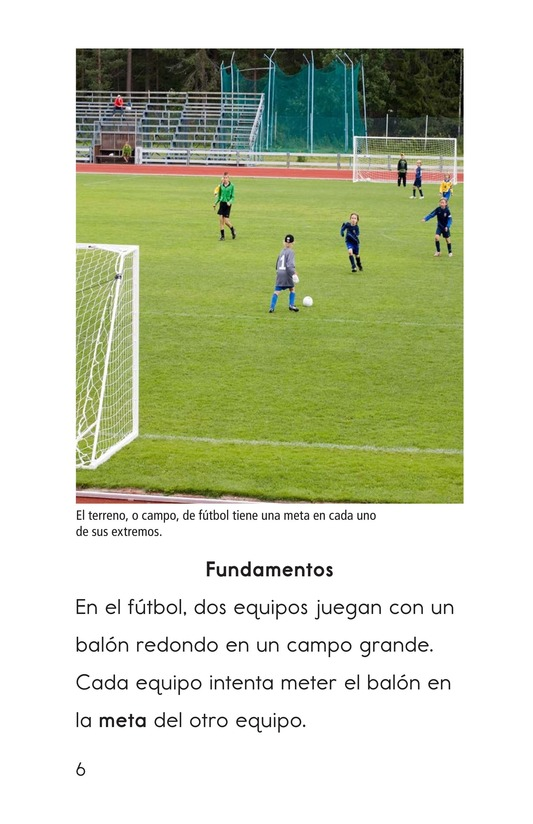 Book Preview For Soccer Is a Kick! Page 6