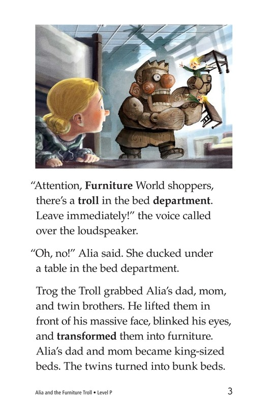 Book Preview For Alia and the Furniture Troll Page 3