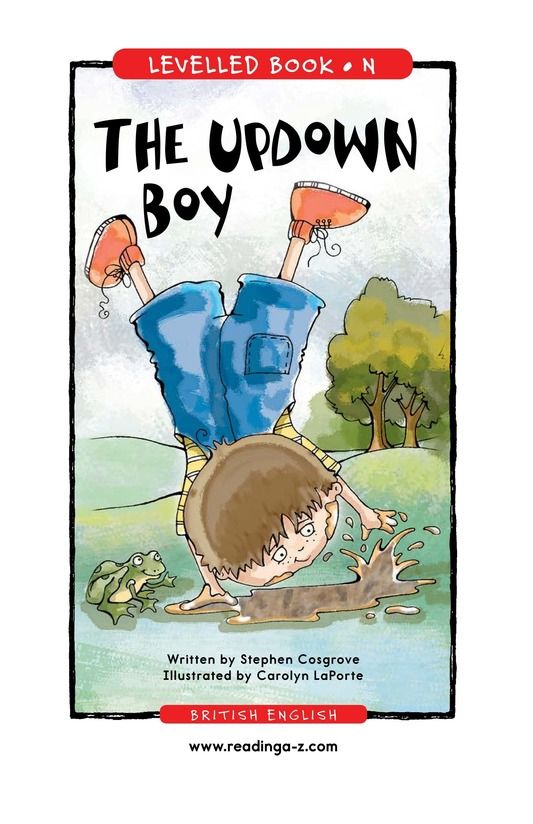 Book Preview For The UpDown Boy Page 1