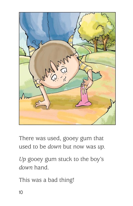Book Preview For The UpDown Boy Page 10