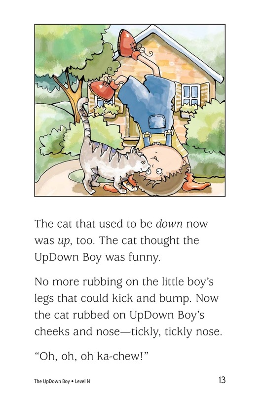 Book Preview For The UpDown Boy Page 13