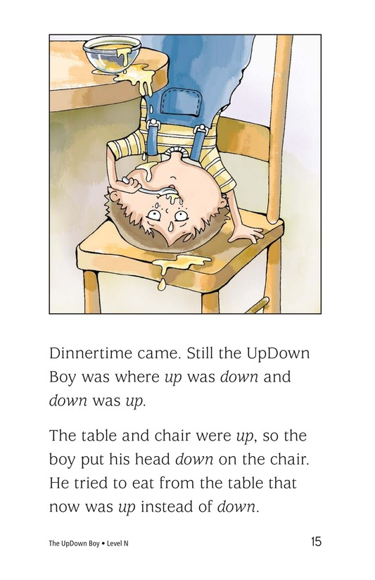 Book Preview For The UpDown Boy Page 15