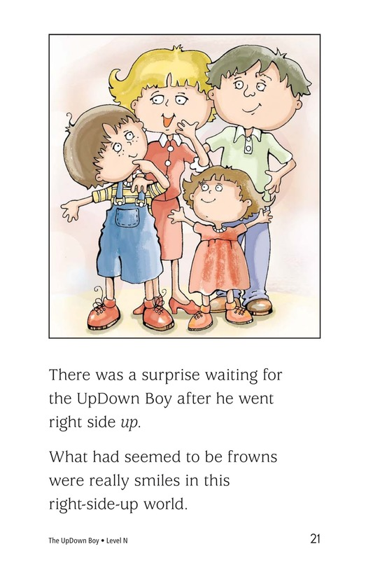 Book Preview For The UpDown Boy Page 21
