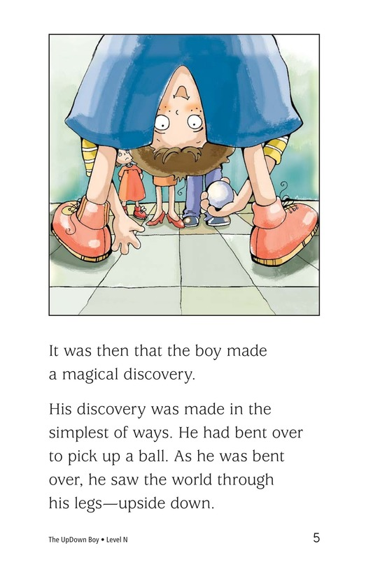 Book Preview For The UpDown Boy Page 5