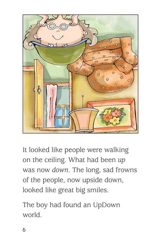 Book Preview For The UpDown Boy Page 6