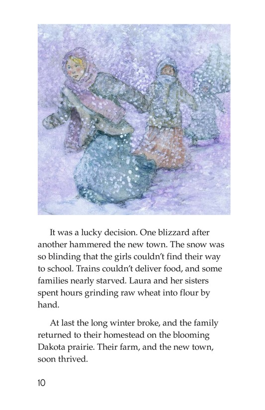 Book Preview For Laura Ingalls Wilder: A Pioneer's Life Page 10