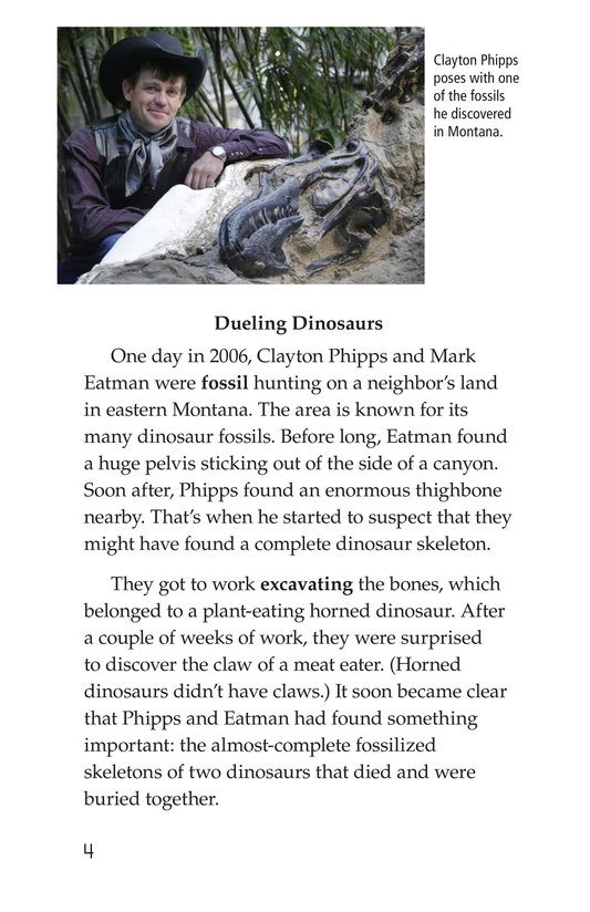 Book Preview For Dino Duel Page 4