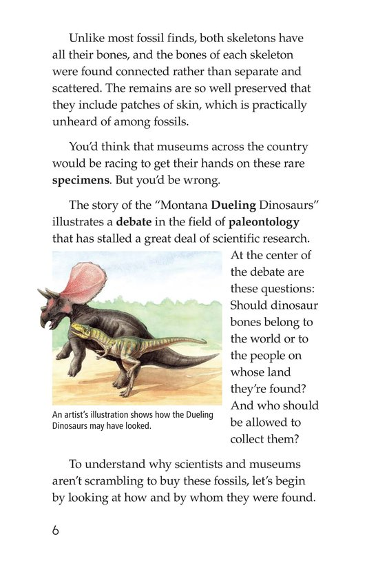 Book Preview For Dino Duel Page 6