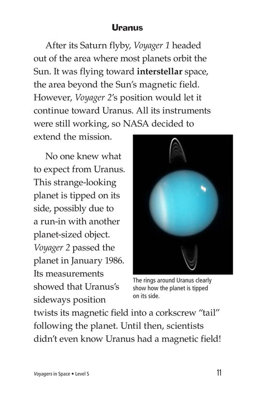 Book Preview For Voyagers in Space Page 11