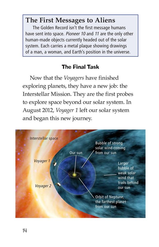 Book Preview For Voyagers in Space Page 14