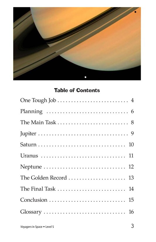 Book Preview For Voyagers in Space Page 3