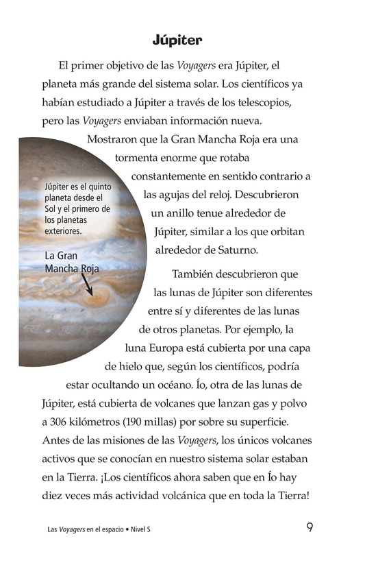 Book Preview For Voyagers in Space Page 9