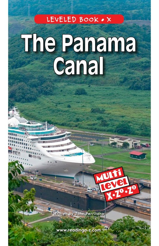 Book Preview For The Panama Canal Page 0