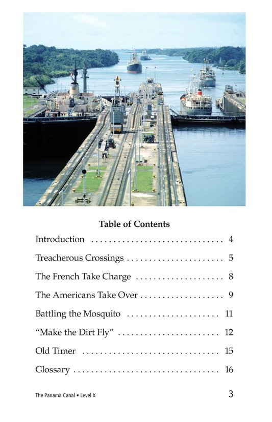 Book Preview For The Panama Canal Page 3