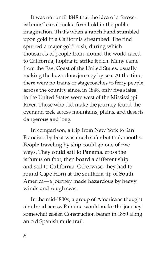 Book Preview For The Panama Canal Page 6