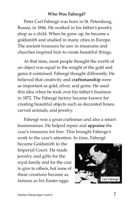 Book Preview For Fabulous Fabergé Eggs Page 7