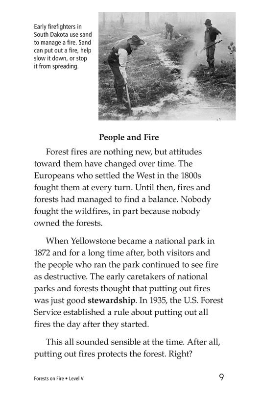 Book Preview For Forests on Fire Page 9